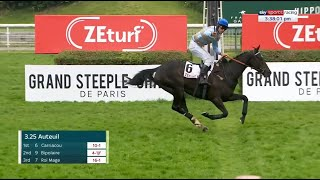 Download Carriacou bolts up in the French Gold Cup under Davy Russell Video