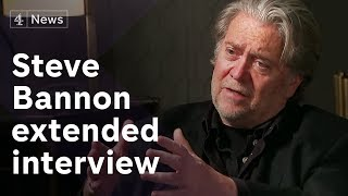 Download Steve Bannon extended interview on Europe's far-right and Cambridge Analytica Video