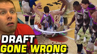 Download MYTEAM DRAFT GONE WRONG! I GOT THE WORST LUCK! NBA 2K17 Video