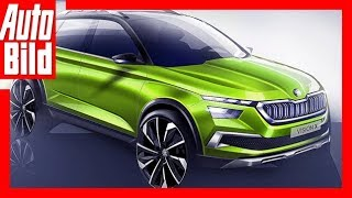 Download Skoda Vision X Concept (2018) Erste Details Video