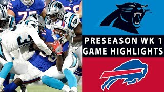 Download Panthers vs. Bills Highlights | NFL 2018 Preseason Week 1 Video