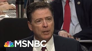 Download President Donald Trump Team Destroying Careers Of Comey Witnesses One By One | Rachel Maddow | MSNBC Video