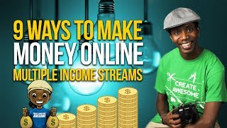 Download 9 Ways I Actually Make Money | Multiple Streams of Income Video