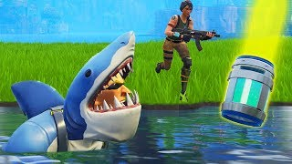 Download *NEW* Shark Skin TROLLING In Loot Lake! Video