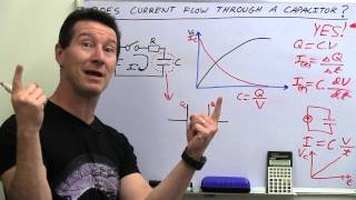 Download EEVblog #486 - Does Current Flow Through A Capacitor? Video