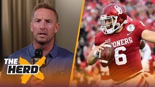 Download Joel Klatt on reports the Browns will take Baker Mayfield in the 2018 NFL Draft | THE HERD Video