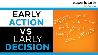 Download Early Action vs Early Decision: What does it all mean?!?! Video