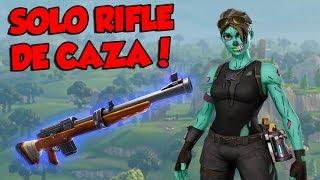 Download 💀 ¡GANANDO SOLO con RIFLE DE CAZA! 💀 ~ FORTNITE Video