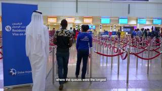Download Express passport control with Smart Gates at DXB Video