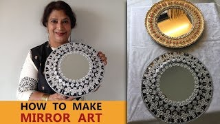 Download How To Make Mirror Art | BEST FROM WASTE Video