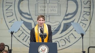 Download Notre Dame Commencement 2017: Valedictory Address by C.J. Pine Video