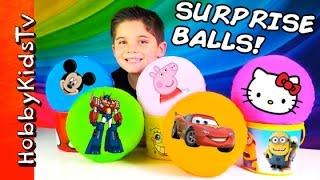 Download Surprise Balls with HobbyKids Video