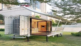 Download Container Home Can Be Moved And Setup In Hours Video