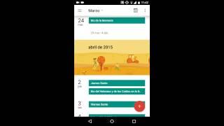 Download Review Google calendar 5.1 update|descarga Video