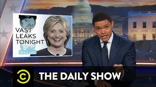 Download More WikiLeaks Revelations About Hillary Clinton: The Daily Show Video