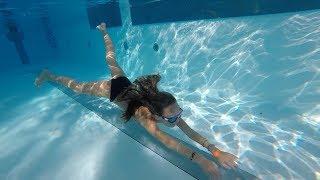 Download Carla Underwater Long swim and Breath holding underwater Video