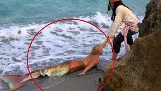 Download She finds Real Life Mermaid... Then This Happens... Video