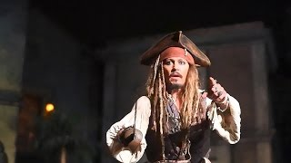 Download Johnny Depp Brings Disneyland Myth to Life! Shows Up on 'Pirates of the Caribbean' Ride Video