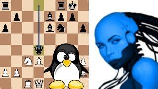 Download Neural Network AI Leela Chess Zero ID 125 vs Chess Grandmaster Andrew Tang Video