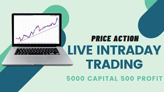 Download 5000 Capital Profit 500 Live Intraday Trading Stock Market Beginner Video