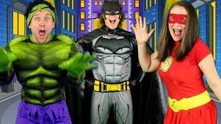 Download Alphabet Superheroes - ABC Superhero Song for Kids | Batman, Spiderman, PJ Masks, Incredibles, Hulk Video