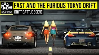 Download Grand Theft Auto 5 - Tokyo Drift: Nissan Silvia S15 vs Nissan 350z (Garage Scene) Video