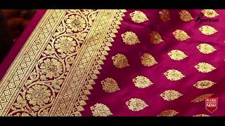 Download Latest Pure Indian Banarasi Katan Bridal & Party sarees with Price | Bridal Banarasi Katan 2018 Video