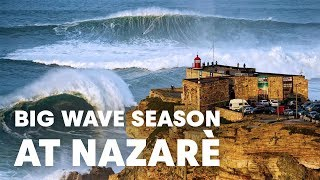 Download The Historic Nazaré Season of 2017-2018 | Sessions Video