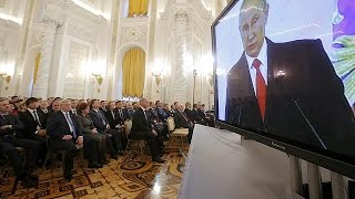 Download Russia needs 'friends' not 'enemies' Putin addresses the nation Video
