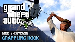 Download GTA 5 PC - Grappling Hook from Just Cause 2 [Mod Showcase] Video