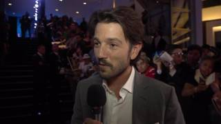 Download Rogue One: A Star Wars Story: Diego Luna ″Cassian″ Mexico Movie Premiere Video