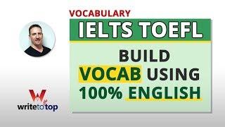 Download IELTS TOEFL TIPS: Build Usable Vocab Quickly Video