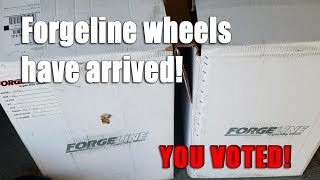 Download Forgeline wheels for C6 Z06 have arrived! You voted! Video