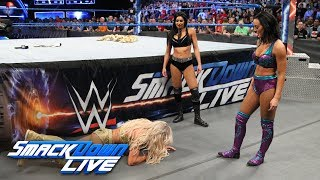 Download Billie Kay and Peyton Royce attack Charlotte Flair: SmackDown LIVE, April 10, 2018 Video