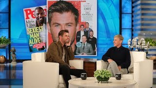Download Chris Hemsworth on Being 'Demoted' as People Magazine's Sexiest Man Alive Video