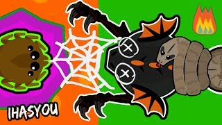 Download MOPE.IO BEST WEBBING TROLL ft LA FLAME!! TRAPPING A BLACK DRAGON ! (Mope.io Funny Trolling Update) Video