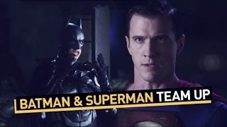 Download Batman and Superman Team Up Video