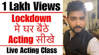 Download Live Acting Class | Scene Work | Rehearsal | Lets Act Actor Studio Video