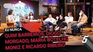 """Download """"Eu Nunca"""" c/ Quim Barreiros, Diogo Morgado, Maria Botelho Moniz e Ricardo Ribeiro Video"""