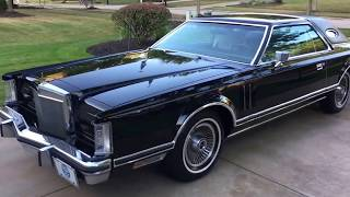 Download 1979 Lincoln Continental Mark V - 13K Original Miles - For sale at bluelineclassics Video