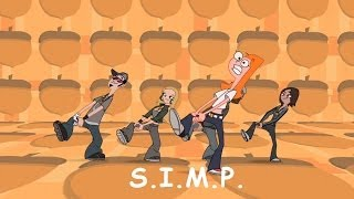 Download Phineas and Ferb Musical Cliptastical Countdown - S.I.M.P. (Squirrels In My Pants) Extended Lyrics Video