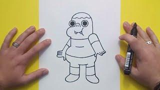Download Como dibujar a Clarence paso a paso - Clarence | How to draw Clarence - Clarence Video