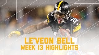 Download Le'Veon Bell's Electric Game with 182 Yards! | Giants vs. Steelers | NFL Week 13 Player Highlights Video