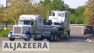 Download US lorry driver charged after nine died in immigrant-smuggling bid Video