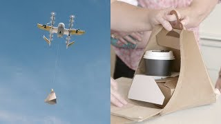 Download Google Drones Can Already Deliver You Coffee In Australia Video