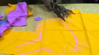 Download Saree blouse cutting method in English. Video