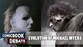 Download Evolution of Michael Myers in Movies & TV in 6 Minutes (2017) Video
