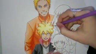 Download Speed Drawing - Uzumaki Family (Naruto, Hinata, Boruto and Himawari) Video