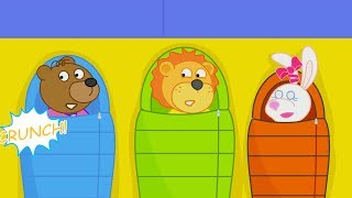 Download Lion Family Camping Trip Cartoon for Kids Video