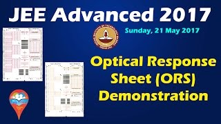 Download JEE Advanced 2017 ORS Demonstration || Paper-1 & Paper-2 Video